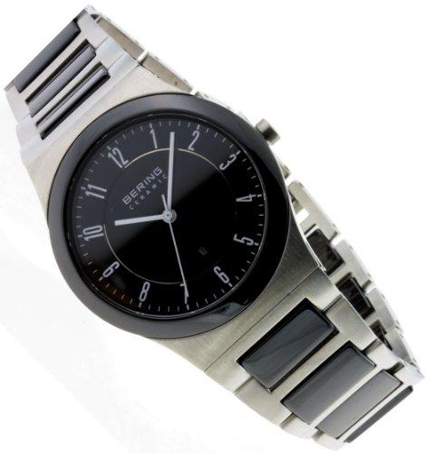 Bering Time Hombre Reloj de Pulsera analógico Cuarzo, Revestimiento de Acero Inoxidable 32235–747