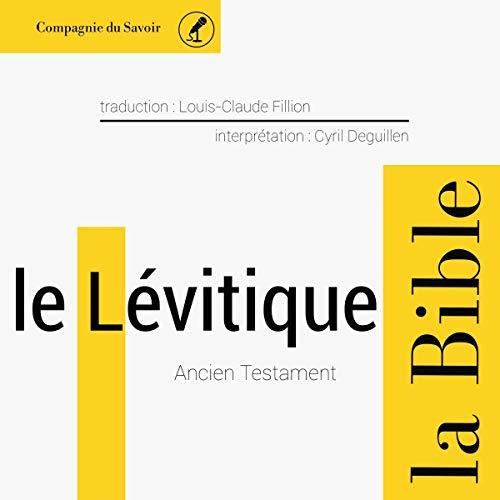 Le Lévitique cover art