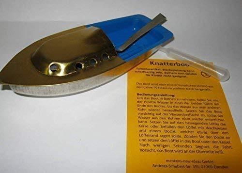 Amanda 698023 Knatterboot 14 cm lang Blechspielzeug Vorbild von 1930!
