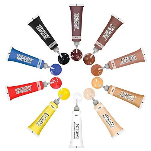 Forwei Leather Hero Leather Color Restorer & Applicator - Reparatur, Umfärbung, Erneuerung von Leder & Vinyl Sofa, Geldbörse, Schuhe, Autositze