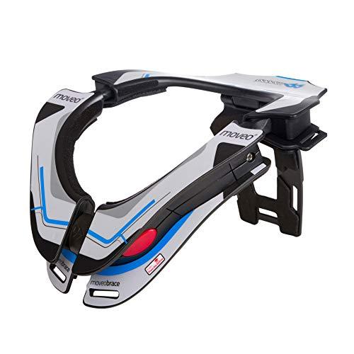 Moveo | Nackenschutz | Motocross Mountainbike MX MTB Downhill Freeride | Nacken-Protektor, nach EN 1621-1 Zertifiziert, reduziert Nackenverletzungen, Gewicht: 590g | Neckbrace Concept | Erwachsene