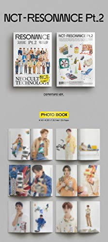 NCT 2020 The 2nd Album Resonance Pt. 2 PreOrder (Departure Ver.+Arrival Ver. Set) 2 CDs+2 Folded Posters+2 Photo Books+2… |