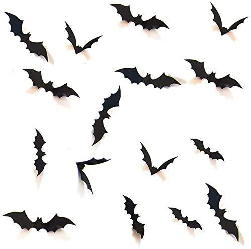 Halloween 3D Bats Decoration, Hallo…