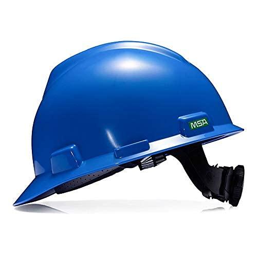 SONGYU Casco Tipo VA de MSA ABS Anti-caída Rotura Obra de construcción Uso de Sombrero de Trabajo de ingeniería (Color: C-1)
