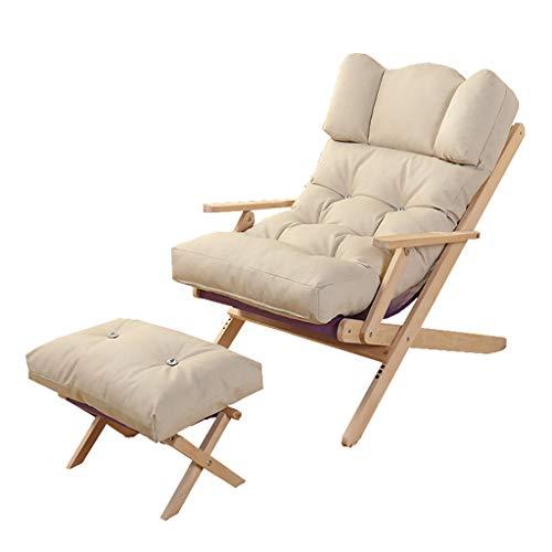 Chaises Longues Chaise Longue Fauteuil Pliant Fauteuil canapé Plage Balcon Chambre à Coucher Loisirs 4 Couleurs (Couleur : C)