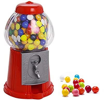 gumball vending machine dispenser sweet bubblegum fun kids toy chewing gum new GUMBALL VENDING MACHINE DISPENSER SWEET BUBBLEGUM FUN KIDS TOY CHEWING GUM NEW 41AIvWfGP9L