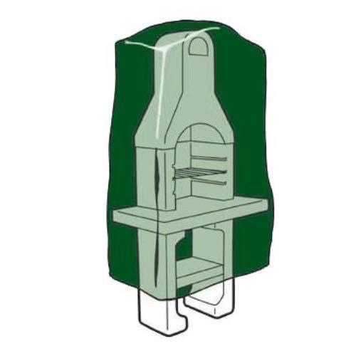 Biotop B2229 Funda Polietileno Cubre Barbacoa, Verde