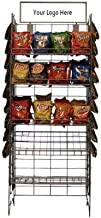 Potato Chip Rack w/ 5 Shelves and 48 Clips
