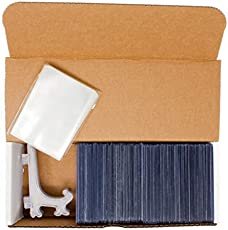 Toploader Hobby Box Standard - 100 Top loaders, 100 Penny Sleeves, 5 Display Stands, Storage Box - Collectible Bundle Card Sleeve Combo Collector Trading Card Starter Kit (Hobby Box Standard)