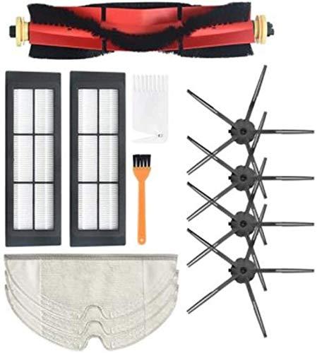 DONGYAO Cepillo principal filtro de cepillo lateral para S6 S5 Max hogar Partes de aspirador piezas de repuesto