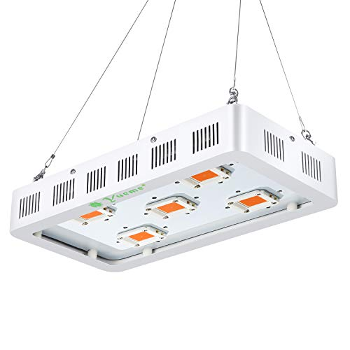 Yueme 1500W LED Grow Light Full Spectrum with On Off Switch Grow Lamp for Greenhouse and Indoor Plant Flowering Growing