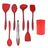 Utensilios De Cocina De Silicona Sin BPA, Ideales para Cocinar Y Hornear, Cocinar, Cocinar Y Revolver
