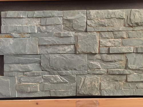 CANU Piedra Pizarra V Selva. Laja de Piedra Formato 35x18x2cm. Precio por 1m2. Nuestros Materiales se descargan a pie de Calle.