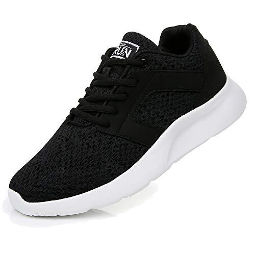 Uricoo Herren Damen Sneaker Outdoors Straßenlaufschuhe Sports KletterschuheTurnschuhe Running Fitness Atmungsaktiv Leichte Laufschuhe Sportschuhe 8996BWT47