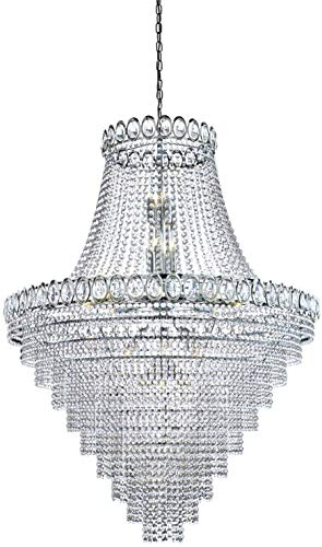 Zoeklicht Louis Philipe Grand Plafond Kroonluchter Licht (chroom, 1711-102CC)