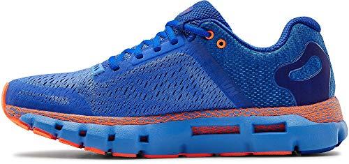 Under Armour Men's HOVR Infinite 2 Running Shoe, Water (401)/Orange Spark, 9.5