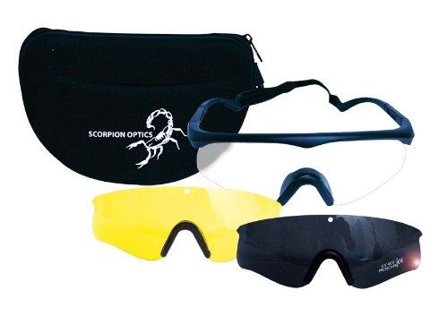 Scorpion Optics Tactical Sport Glasses Protección de gafas