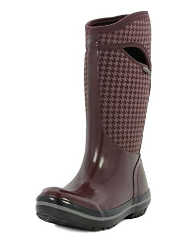 BOGS Ladies Plimsoll Hounds AUBERGINE Insulated WARM Wellies Boot EGPLNT 72030-UK 5 (EU 38)