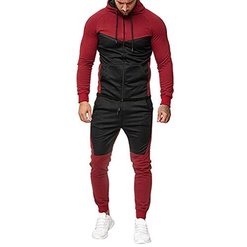 Herren Fitness Jogginganzug Sportanzug Trainingsanzug Herren Jumpsuit Farbauswahl Jogging Anzug Trainingsanzug Einteiler Overall