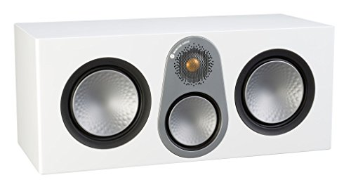 Lowest Prices! Monitor Audio Silver C350 Center Channel Speaker Satin White