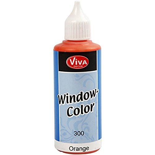 Window Color, orange, 80ml