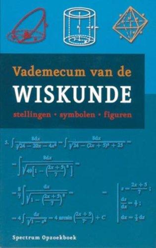 Vademecum van de wiskunde (Prisma-boeken)
