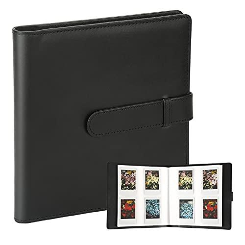 256 Pockets Photo Album for Fujifilm Instax Mini LiPlay 11 90 70 50S 26 25 9 8S 8 7S Instant Camera /Mini Link Printer, Polaroid Snap SnapTouch PIC-300 Z2300 Mint Zip Instant Camera Printer (Black)