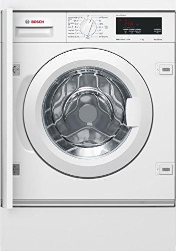 Bosch Serie 6 WIW24340EU Integrado Carga frontal 7kg 1200RPM A+++ Color blanco - Lavadora (Integrado, Carga frontal, Color blanco, Izquierda, LED, 2,25 m)
