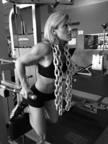 RopeFit Weight Lifting Steel Chains 28 to 60lbs
