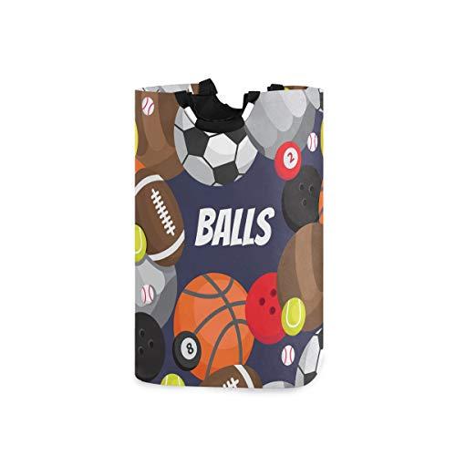 ZOMOY Impermeable Plegable Cestos para la Colada,Balones Fútbol Voleibol Baloncesto,Cajas de almacenaje...