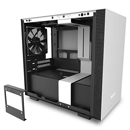 NZXT H210i - Case da gioco per PC Mini-ITX - Porta Tipo C USB I/O frontale - Gestione cavi pannello laterale in vetro temperato - Compatibile con il raffreddamento a Liquido