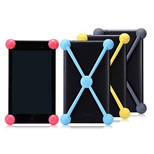 ZJYSM Estuches de Tableta Funda de Silicona a Prueba de Golpes para Google Nexus 7 II (Color : Yellow)