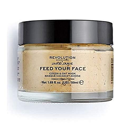 Revolution Skincare London Rev Skin x Jake Jamie Cocoa & Oat Feuchtigkeitsspendende Gesichtsmaske, 50 ml