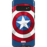 Skinit Pro Phone Case for Galaxy S10 - Officially Licensed Marvel/Disney Captain America Emblem Design