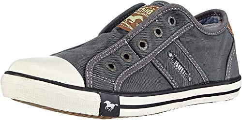 Mustang Unisex-Kinder 5803-405-2 Low-Top, Grau (Grau 2), 35 EU