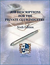 Job Descriptions for the Private Club Industry Cd-rom
