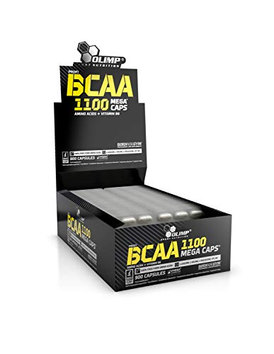 Olimp Labs BCAA Capsules in Blister Box, 1100 mg, Pack of 900 Mega Capsules