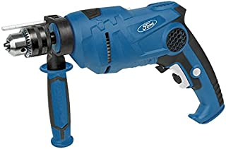Ford 710 Watts 13mm Keyless Impact Drill, Reversible with Variable Speed Control, Corded Drill for Concrete / Masonry, Metal / Steel and Wood Drilling, High Quality Power Tool