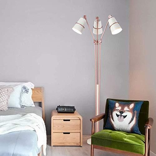 XYUN Woonkamer, hotel, slaapkamer, vloerlamp palen ijzeren vloerlamp zwart verstelbare lange arm hoge palm verticale vloerlamp voor woonkamer hotel