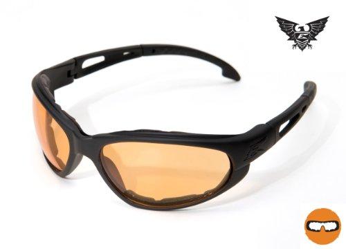 Edge Tactical Falcon Gasket Vapor Tigers Eye, GSF610, Noir