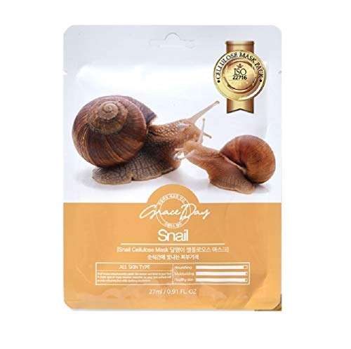 GRACE DAY Snail Cellulose Mask, 27 ml