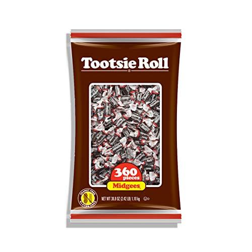Tootsie Roll Midgees 360 Pieces (Tootsie Rollenmücken 360 Stück)