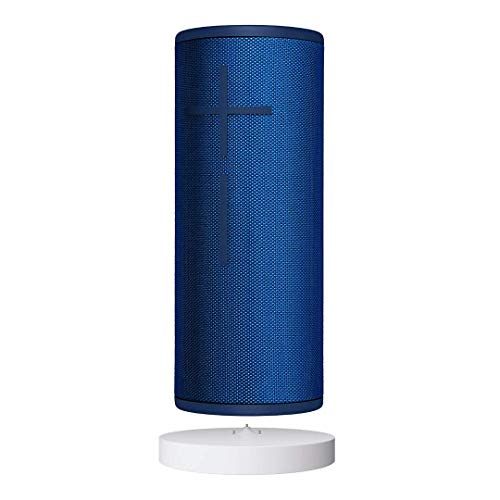 Ultimate Ears BOOM 3 Bluetooth Lautsprecher (wasserdichter 360°-Sound) inklusive Power up Ladestation, blaue Lagune