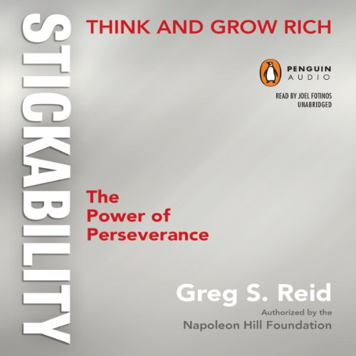 Think and Grow Rich 'Stickability' audiobook cover art