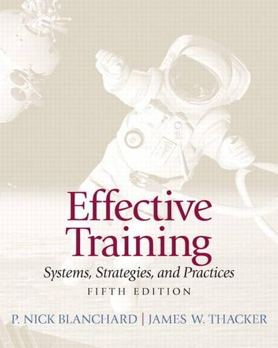Effective Training (5th Edition)