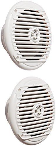 Jensen MS6007WR Koaxial-Lautsprecher, 16,5 cm, Weiß