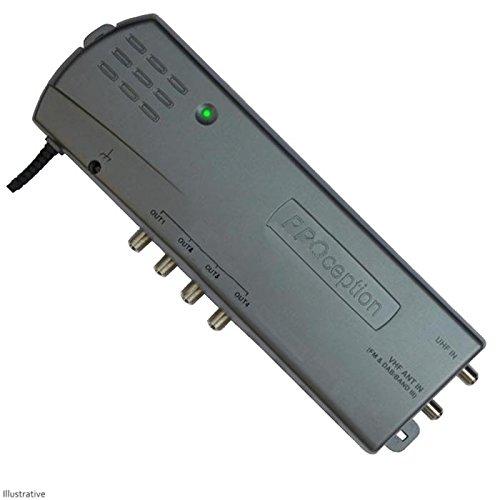 Proception - Amplificador TV 4 vías derivación