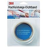3M DICHT38, Cinta de sellado de alto rendimiento de 38 mm x 1.5 m x 0.9 mm, color blanco, (1 paquete)