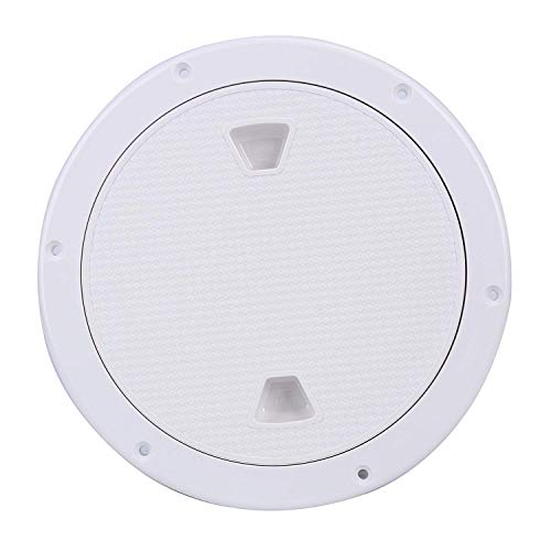 Amarine Made 6 Boat Round Non Slip Inspection Hatch with Detachable Cover 198mm