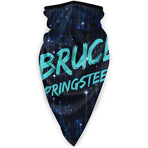 Welc my King Bruce Springsteen E Street Band Unisex Dust Face Shield Veil Balaclava Scarf Face Guard
